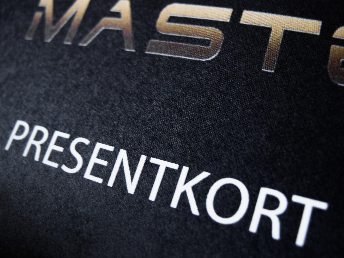 Presentkort Mästerfoto