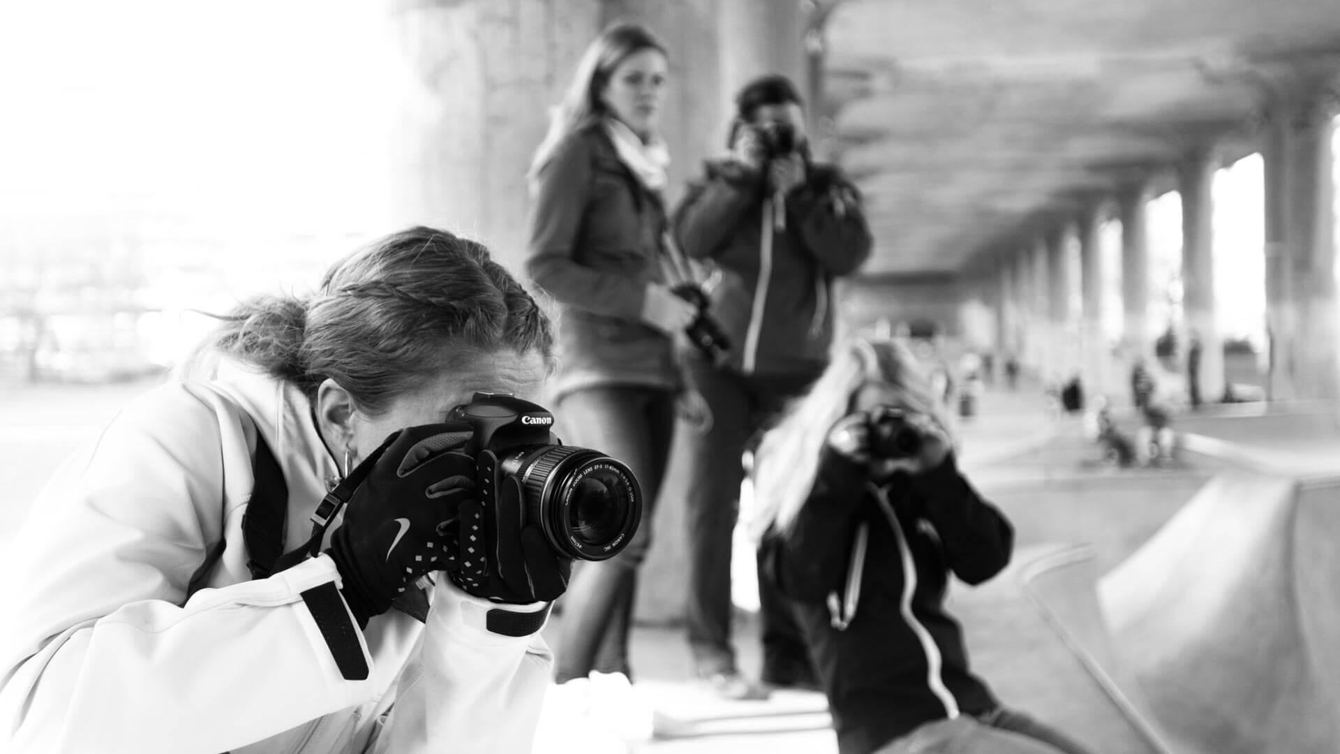 Grundkurs fotografering. Lär dig grunderna i fotografering för att utvecklas