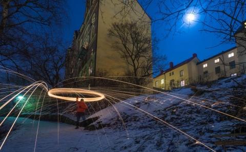 nattfotografering i stockholm