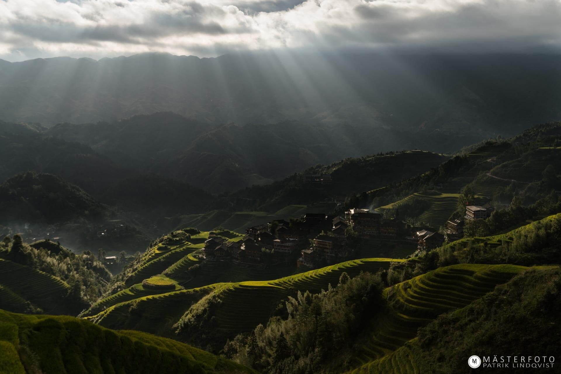 Fotoresa Kina med sagolandskap. Utveckla din fotografering