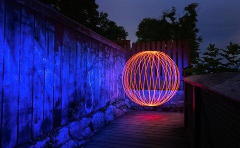 Nattfoto Sverige fotokurs hur man fotograferar natt