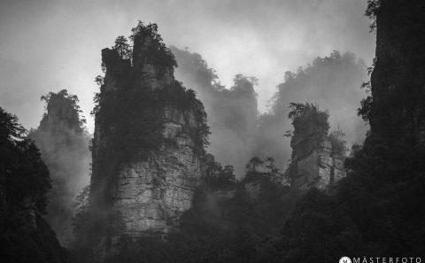 Resa till Kina med temaresor fotografering av mgiska landskap