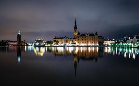 Nattfoto i Stockholm. Lär dig nattfotografering.