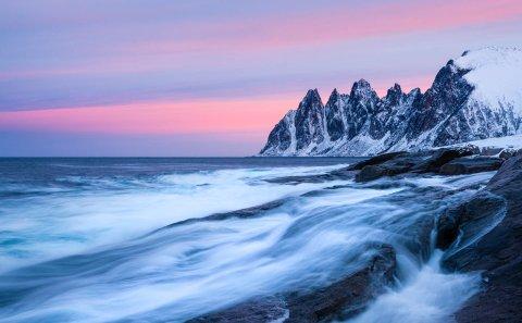 Fotografera vinterlandskap på senja.